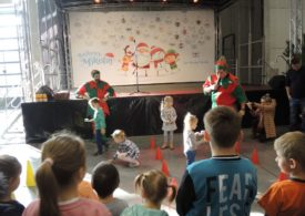 Bajkowy Mikołaj  w EXPO MAZURY