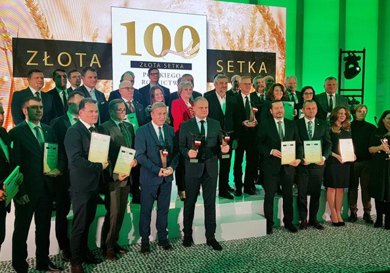 Złota 100 Polskiego Rolnictwa