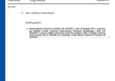 Nowe rozporządzenie w sprawie środków ochronnych przeciwko agrofagom roślin