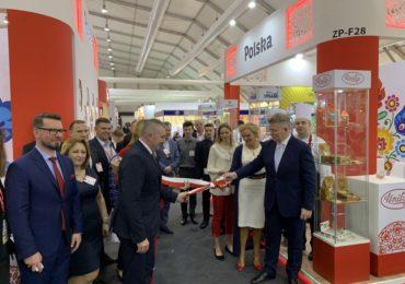Polskie stoisko narodowe na targach Gulfood 2020