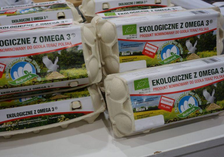 Rośnie popyt na jaja spożywcze z Europy