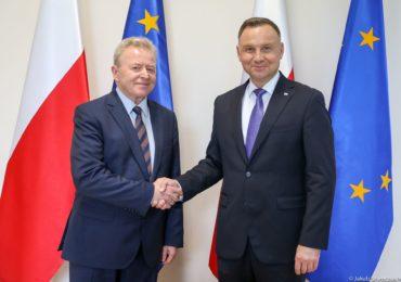 Spotkanie Prezydenta RP z Komisarzem UE ds. rolnictwa